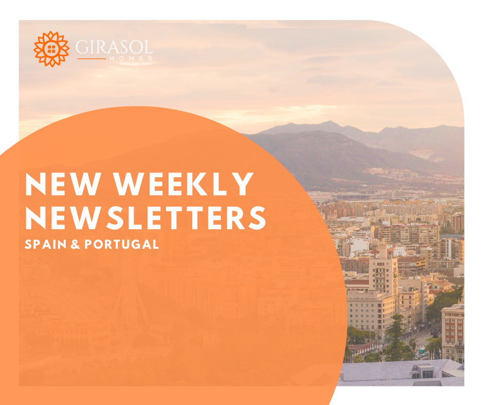 Updated Newsletters for Spain and Portugal