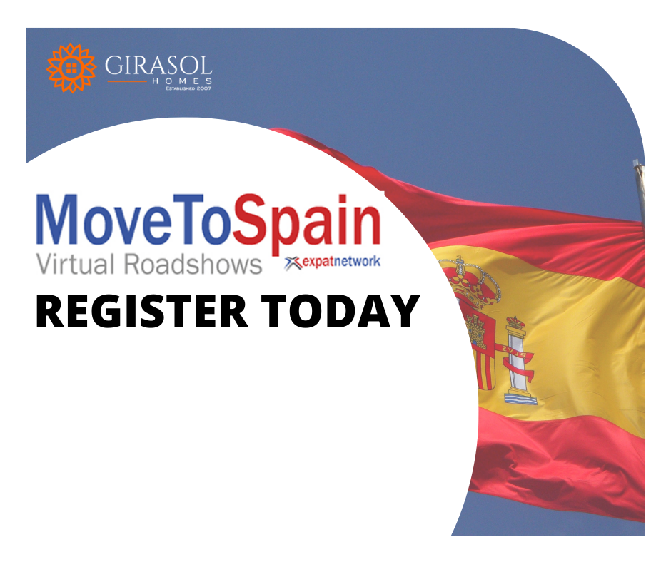 REGISTER TODAY - New Webinar Series - Move to Spain in 2021