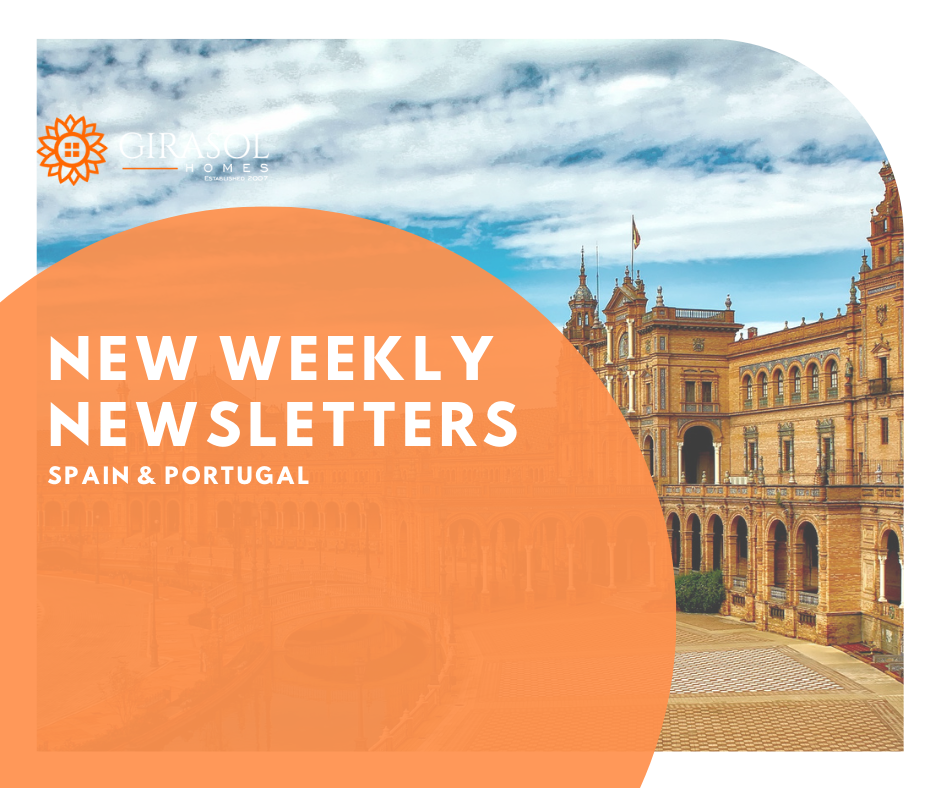 Updated Newsletters for Spain and Portugal - 27 March